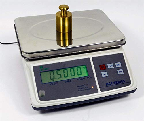 16lb x 0.0005lb Digital Parts Counting Scale – Mid Counting Scale with Check-weighing Function – Inventory Scale – Coin…