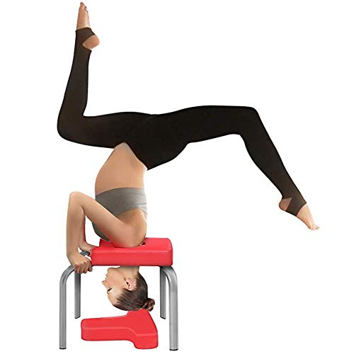 Fantastic Prices! LISI Yoga Stool Yoga Headstand Bench, Yoga Inversion Chair Headstand Bench-Stand P...