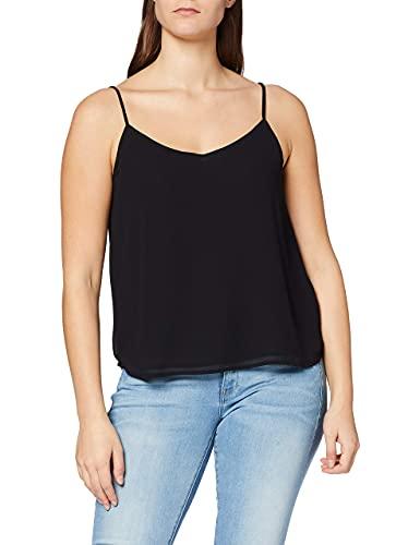 ONLY Damen Onlmoon Sl Noos WVN Top, Schwarz (Black Black), (Herstellergröße:38.0)