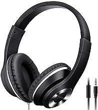 MAYERS AUSDOM Lightweight Over-Ear Wired HiFi Stereo Headphones - Black