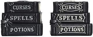 Darice Halloween Book Decoration: Black, 6.5 X 5.2 Assorted Styles