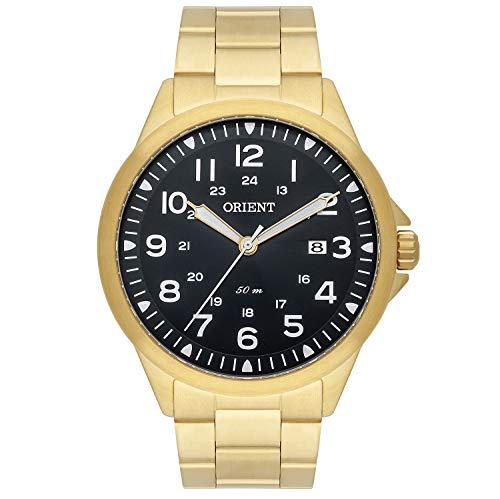 Relógio Orient Masculino Ref: Mgss1199 P2kx Casual Dourado