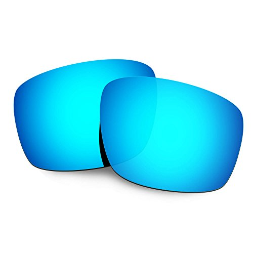 HKUCO Mens Replacement Lenses for Oakley Mainlink Sunglasses Blue Polarized