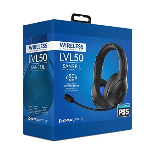 PDP Cuffie wireless LVL50 - Sony Playstation 4 & 5 nere