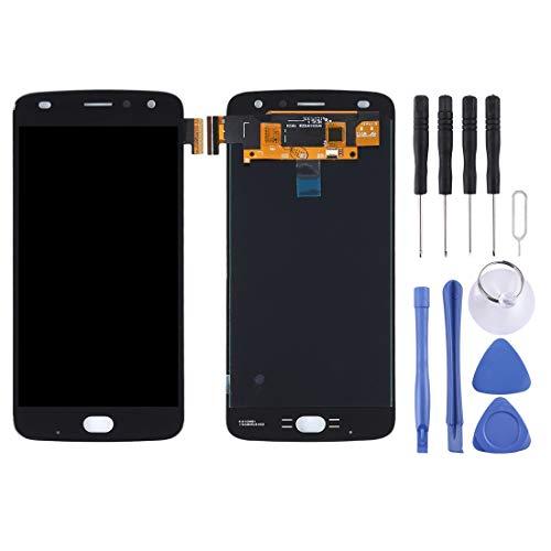 Motorola-Touchscreen LCD Screen und Digitizer Full Assembly for Motorola Moto Z2 Play (Schwarz) (Color : Black)