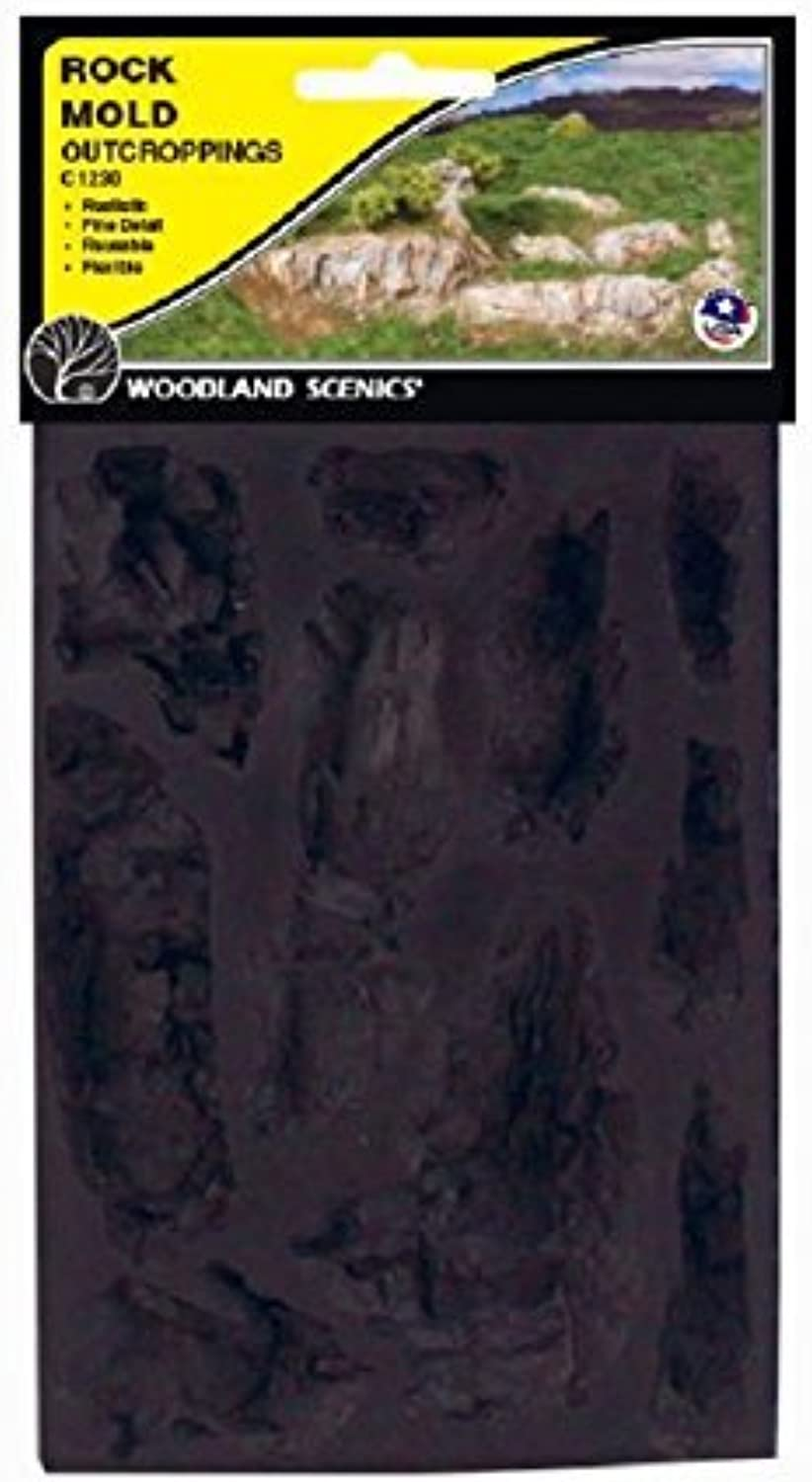 liquidación hasta el 70% Woodland Paysages Paysages Paysages WS 1230 Rocher Mold-Outcroppings - 5 x 7 by Woodland Scenics  Envío 100% gratuito