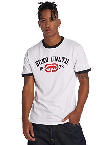Ecko Unltd T-Shirt Uomo Primo Viale T-Shirt White Bianco - Bianco, x-Large