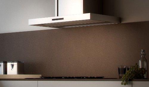 berbel Wandhaube Emotionline BWH 70 EL (600-950mm) Abluft weiß/schwarz/Edelstahl/RAL-Farbe/Effektbeleuchtung