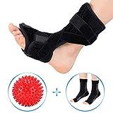 DOACT Plantar Fasciitis Night Splint for Heel Pain Relief, Foot Drop Orthotic Brace