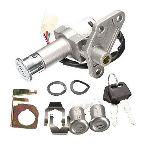 linger Ajuste para el Interruptor de Llave de Encendido de la Motocicleta de 50cc 125cc 150cc Conjunto con el bloq Scooter Moped ATV Quad
