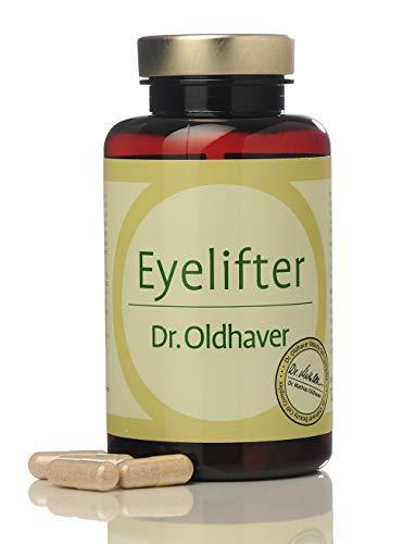 Dr. Oldhaver Eyelifter mit Vitamin A, Augentrost + Ginko Biloba, Für Sehkraft und gegen Augenfältchen und Augenringe, 120 Kapseln