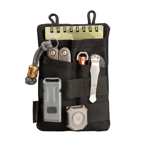 VIPERADE VE3 Pocket Organizer Men, Nylon EDC Organizer with 4 Tool...