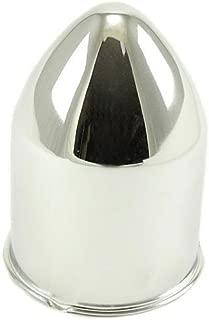 U.S. Wheel C115 Push Thru Bullet Center Cap Fits: Rat Rod and Skull Wheels w/ 3.