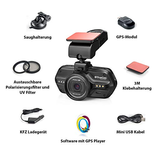 TrueCam A5 Pro Wifi Gps Dashcam - 10