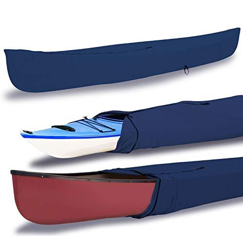 EliteShield Canoe Kayak Heavy Duty Waterproof All Weather Boat Cover...