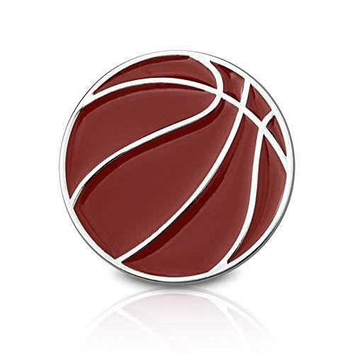 Maksim-003 Baloncesto de Metal Logotipo de Baloncesto Ventiladores arañazos Personalizadas Pegatinas Coche Pegatinas de Coches modificados decoración del Coche Remolque