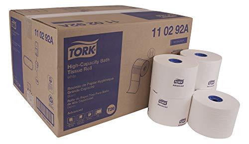 Tork Advanced 110292A High Capacity Bath Tissue Roll, 2-Ply, 3.94