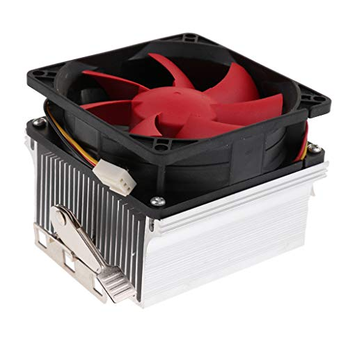 #N/A/a Refrigerador de CPU Ventilador Refrigerado Ventilador de 8 Cm Disipador de Calor de Cobre para AMD FM1 / 2/2 + AM2 / 2 + / 3/3 + / 4