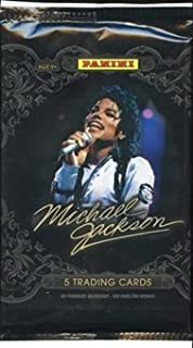 Michael Jackson Panini (2011) Factory Sealed Pack of 5 Trading Cards