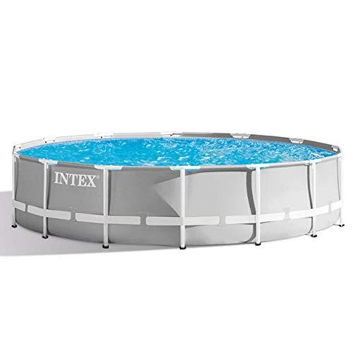 Intex - Piscine tubulaire Intex ronde 3,66 x 1,22 m