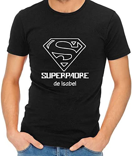 Camiseta Personalizada 'Superpadre' - Regalo para el Día del Padre