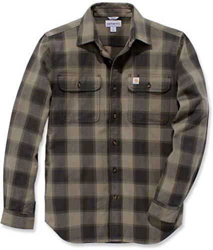 Carhartt Workwear Mens 104144-391-BURNT Olive-M Shirt, Medium
