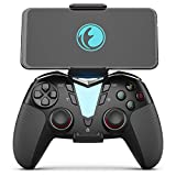 Mobile Game Controller for Fortnitee, IFYOO ONE Pro Wireless Gaming Gamepad, Compatible with iPhone iPad(NOT Include iOS 13.4 or Above), Android Phone/Tablet/TV, PC Win Steam - Black