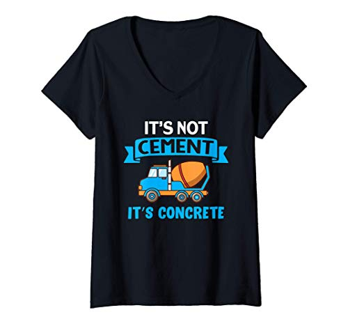 Mujer Not cement it's concrete | Concrete Finisher I Cement