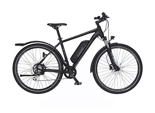 FISCHER E-Bike ATB Terra 2.0, Elektrofahrrad, graphitschwarz matt, 27,5 Zoll, RH 48 cm, Hinterradmotor 45 Nm, 48 V Akku