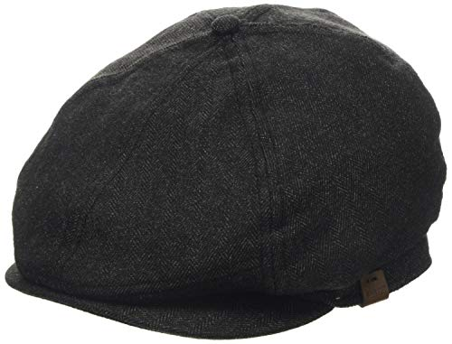 Barts Herren Jamaica Cap Baskenmütze, Grau (Dark Heather 019H), Large