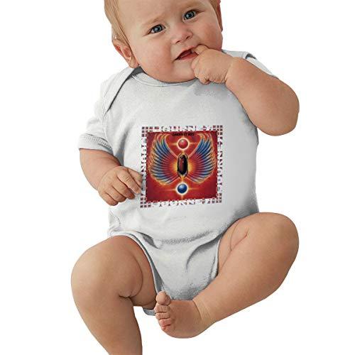 Baby Mädchen Jungen Bodysuit Journey-Band Greatest Hits Logo Baumwolle Kinderbekleidung Bekleidung T-Shirt Kurzarm Tee Shirts