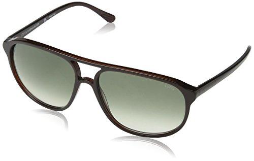 Lozza Herren Sl1827L Sonnenbrille, Grün (Shiny Olive Brown), Einheitsgröße