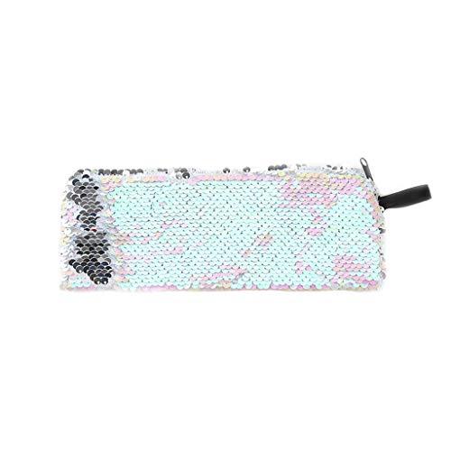YO-HAPPY Fashion Sequin Women Glitter Cosmetic Bag Pencil Box Porte-Monnaie Maquillage Case