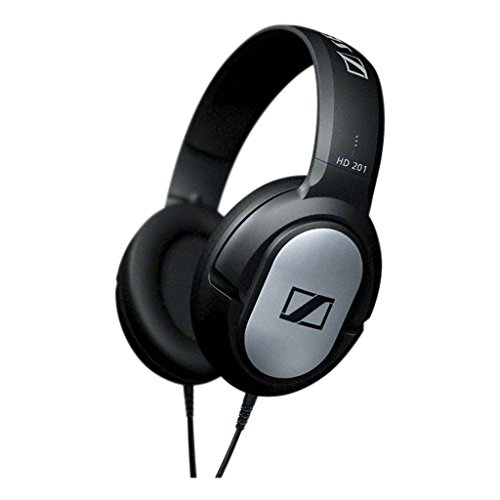 Sennheiser HD-201 Lightweight Over Ear Headphones (Discontinued by Manufacturer)