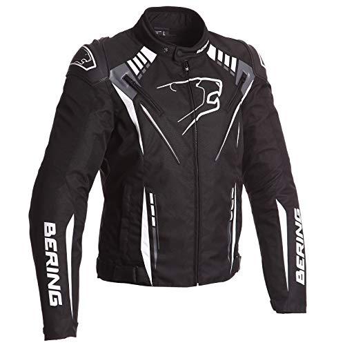 Bering Motorradjacken PRIMO-R, Schwarz/Weiß, Größe 3XL
