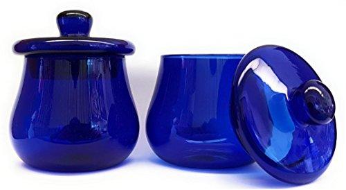 2 copas/vasos para la cata de aceite de oliva