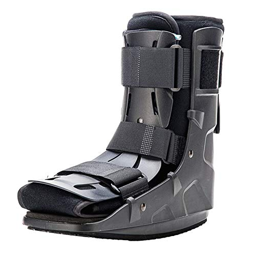 Walking Boot for Fracture Foot,Medical Orthopedic Cam Walker Boot for Ankle Sprain Pneumatic Boot, Large