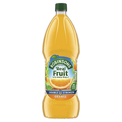 Robinsons Fruit Squash - Low Calorie -  Double Concentration - Orange - 1.75 Litre