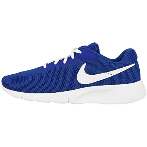 Nike Tanjun (Gs), Scarpe da Ginnastica Basse Bambino, Blu (Game Royal/White), 38 EU
