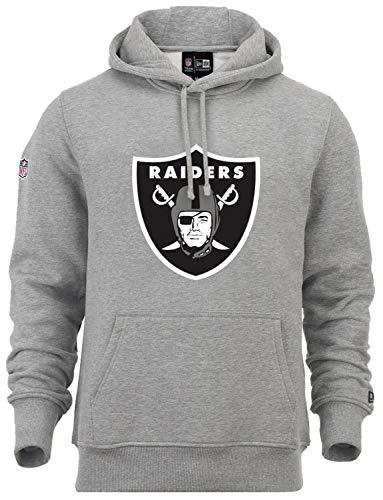 New Era - NFL Oakland Raiders Team Logo Hoodie - grey Size XL