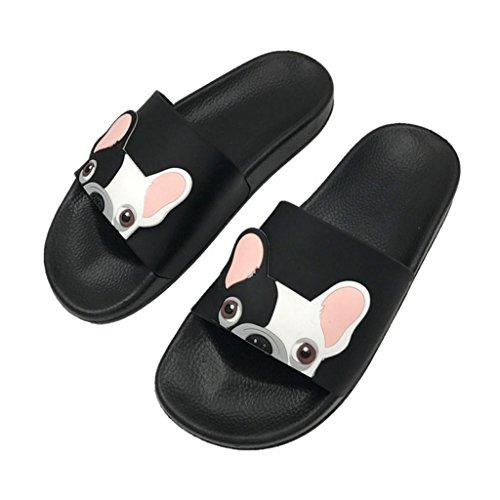 Youliy Pantofole per la casa, carine pantofole per cani, pantofole da spiaggia e scarpe piatte per evitare scivolose