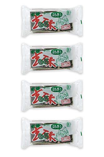 オーサワジャパン 有機玄米もち よもぎ入 6個入(300g) ×4セット