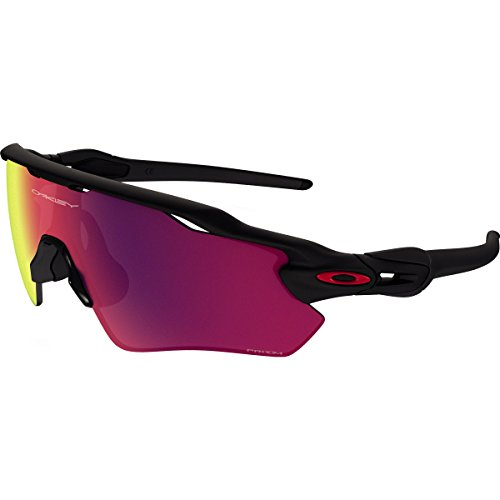 OAKLEY Radar Ev Path 920846 0, Occhiali da Sole Uomo, MATTE BLACK / PRIZM ROAD, 38