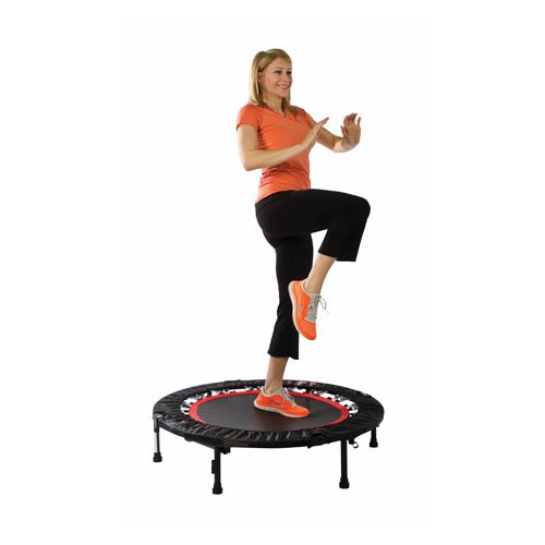 Urban Rebounder Trampoline with Workout DVD & Stabilizing...
