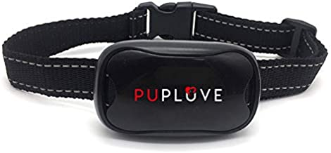 PupLuve Dog Collar Anti Bark Collar for Small, Medium and Large Dogs - No Shock Humane Training Device to Stop Your Pet from Barking with Sound &Vibration as a Deterrent- Petsafe, Waterproof