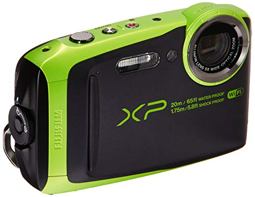 Fujifilm 600019756 FinePix XP120 Shock & Waterproof Wi-Fi Digital Camera