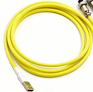 Computer Cables & Connectors - Custom Make PET Double Sleeved USB to Mini 5P Cable for Mechanical Keyboard USB Cable With ...