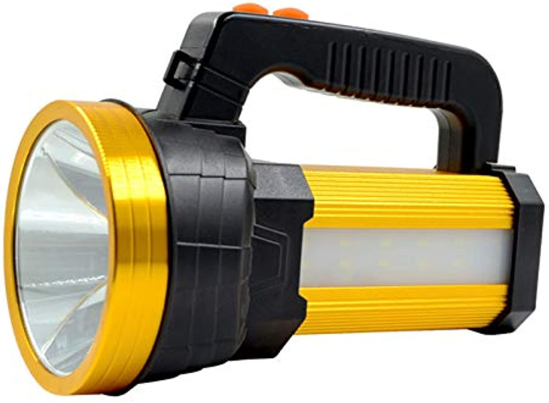 Starke licht led tragbare taschenlampe, multifunktionale tragbare suchscheinwerfer outdoor jagd arbeitslampe cob