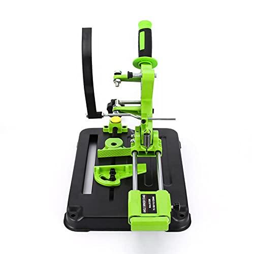 SISHUINIANHUA Molinillo de ángulo Soporte Fijo Pulido Máquina de Pulido Máquina de Corte Máquina de Corte Vaina de extracción de Escritorio para 100/125 Angular Amoladora