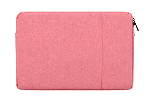DOT. 13 - 13.3 Inch Laptop Sleeve Case Water-Resistant Neoprene Notebook Computer Pocket Tablet Briefcase Carrying Bag/Pouch Skin Cover for Acer/Asus/Dell/Lenovo/HP & More (13' - 13.3', Pink)
